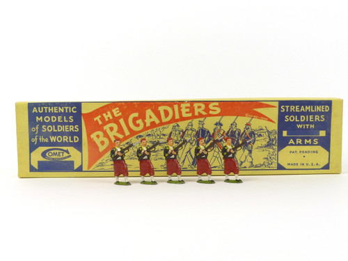 Authenticast Comet Toy Soldiers French Zouave Loading 1900