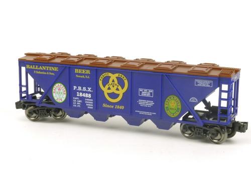 RMT 96394 Ready Made Trains Ballantine Beer 4-Bay Hopper O Gauge