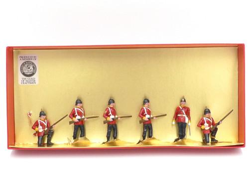 Tradition of London Set 51 The Norfolk Regiment Marching Order 1882