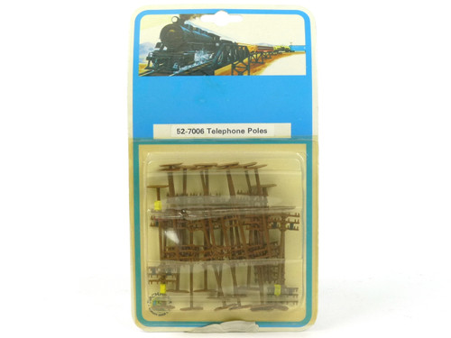 Bachmann Trains 52-7006 Telephone Poles N Scale Accessories