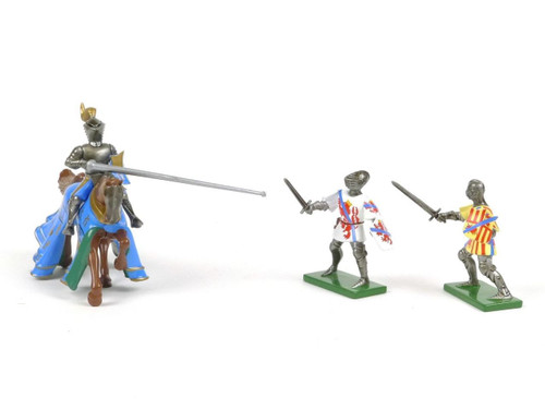Britains Tournament Knights Foot Knights Mounted Knight 8762
