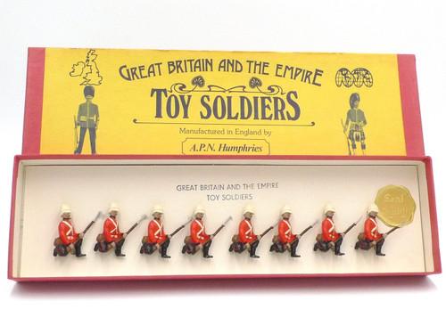 APN Humphries Toy Soldiers Royal Irish Regiment On Guard Sudan