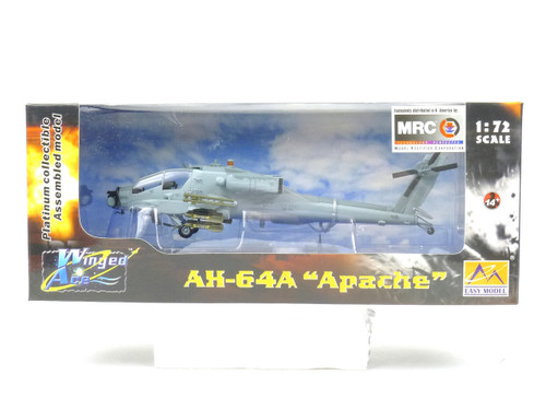 Easy Model MRC 37026 AH-64A Apache Helicopter 1:72 Scale