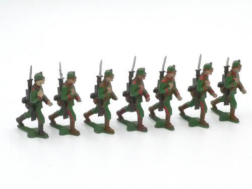 Authenticast Comet Toy Soldiers 705 German Infantry Jaeger 1819
