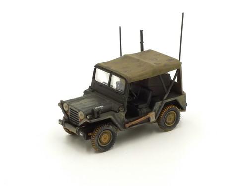 """Corgi 50105 M151 A1 """"Mutt"""" Utility Truck USAF 1/43 Scale"""