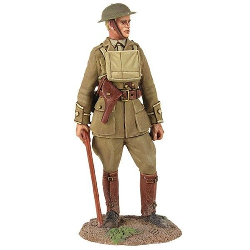 1916-18 - British Infantry Officer Standing with Walking Stick - 1 Piece Set in Clamshell Pack