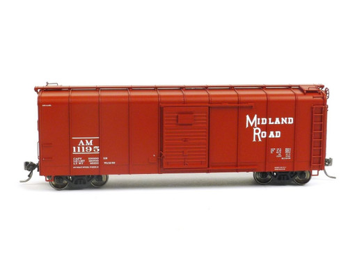 HO Scale Trains Midland Road Wagontop Box Car Fox Valley Models FVM 30333