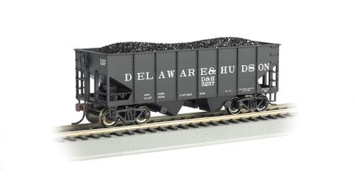 Bachmann Electric Trains 19505 HO 55t 2-bay Outside Braced Hopper D&H