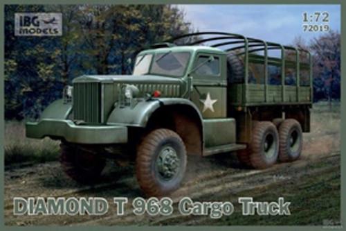 IBG Models Kit 72019 Diamond T 968 Cargo Truck 1/72 Scale
