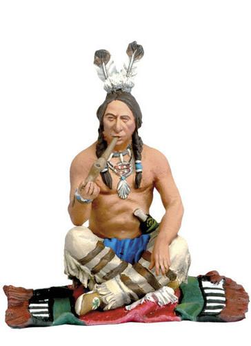 Black Hawk The Indians FW-0204 Smoking Warrior