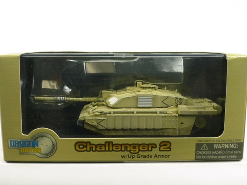 Dragon Armor 60044 Challenger 2 With Up Grade Armor Iraq 2003 1/72 Diecast Model