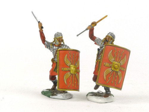 Conte Collectibles Toy Soldiers ROME-012 Rome At War Roman Legionaries Attacking