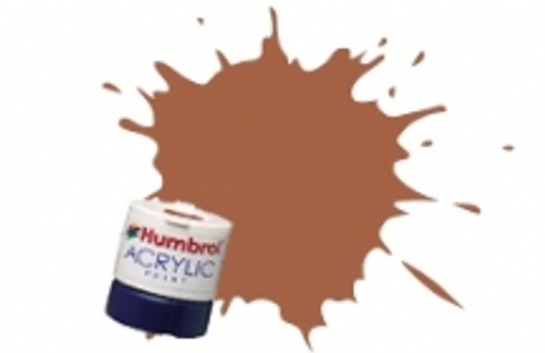 Humbrol Set Acrylic Paint 62 Leather Matt - 12ml Acrylic Paint - AB0062