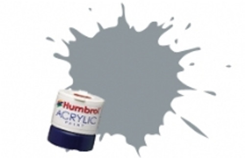Humbrol Set Acrylic Paint 64 Light Grey Matt  AB0064