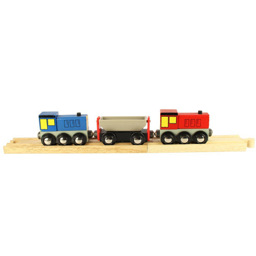 BigJigs Wooden Railway Shunters BJT198