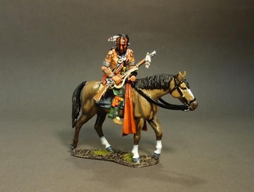 John Jenkins Designs The Raid On St. Francis 1759 Mounted Woodland Indian, Tracking