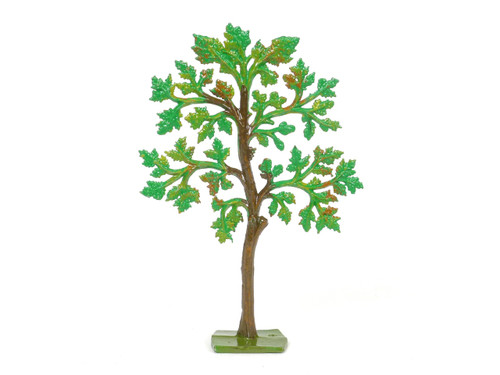 Hornung Art Small Maple Tree 26M Flat Hand Painted Metal Cast