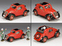 Toy Soldiers Fiat 500 A Luftwaffe Topolino With Pilot Driving