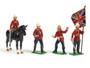 Trophy Miniatures ZS1 24th Foot Regiment Command Set Zulu War