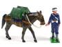 Trophy Miniatures EQ17 Royal Mountain Artillery British Ammunition Handler Zulu War