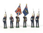 Blenheim Military Models Set #B18 Royal Marines Colors