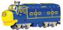 Bachmann Chuggington 59001 Brewster Diesel Locomotive HO Scale