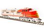 Broadway Limited 5493 Santa Fe ATSF E1 A Unit #2L Paragon3 Sound/DC/DCC HO Scale Trains