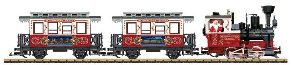 LGB Trains make great Christmas Gifts for the special someone who loves trains!