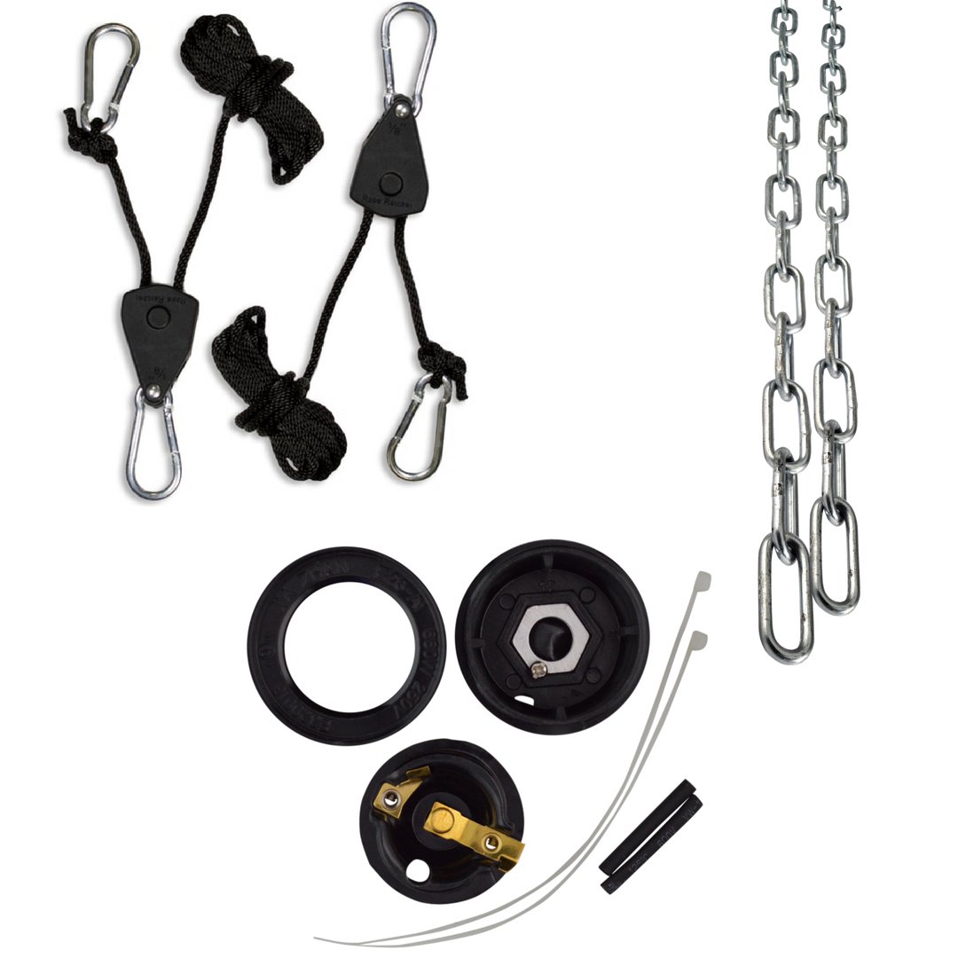 Sauna Fix Lamp Rope Ratchets and Chains