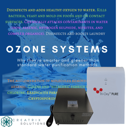 Tri-Oxy Pure Ozone Production Systems