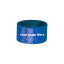 Laser Engraved Blue Napkin Rings, Pkg/24