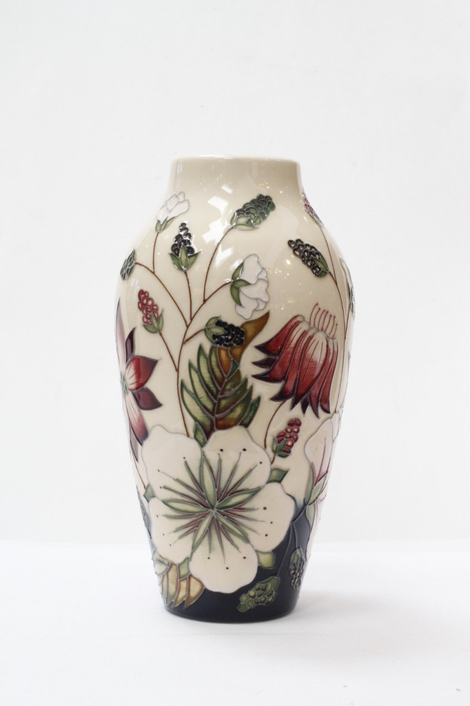 Moorcroft - Bramble Revisited Vase - 200/8