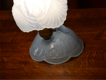 Vintage Table Lamp by Apex - Lady with Bouquet