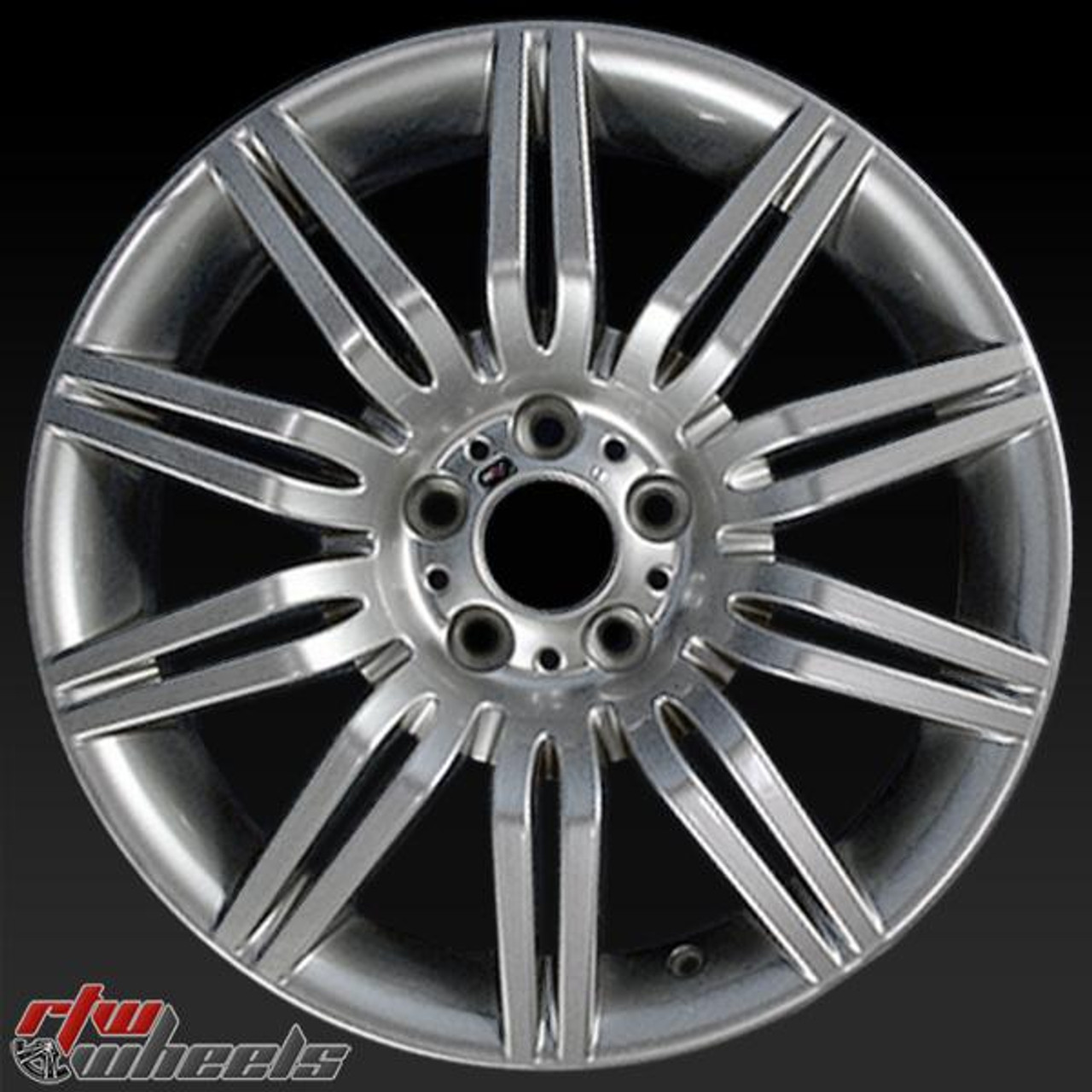 """19"""" BMW 5 Series Wheels For Sale 2004-2010 Hypersilver"""