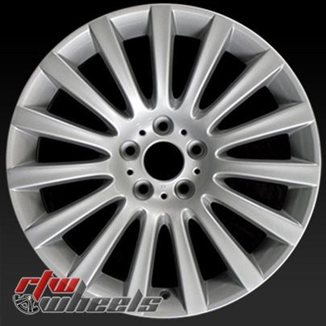 "19x9.5"" BMW 5 Series Wheels For Sale 09-14 Silver Rims 71337"