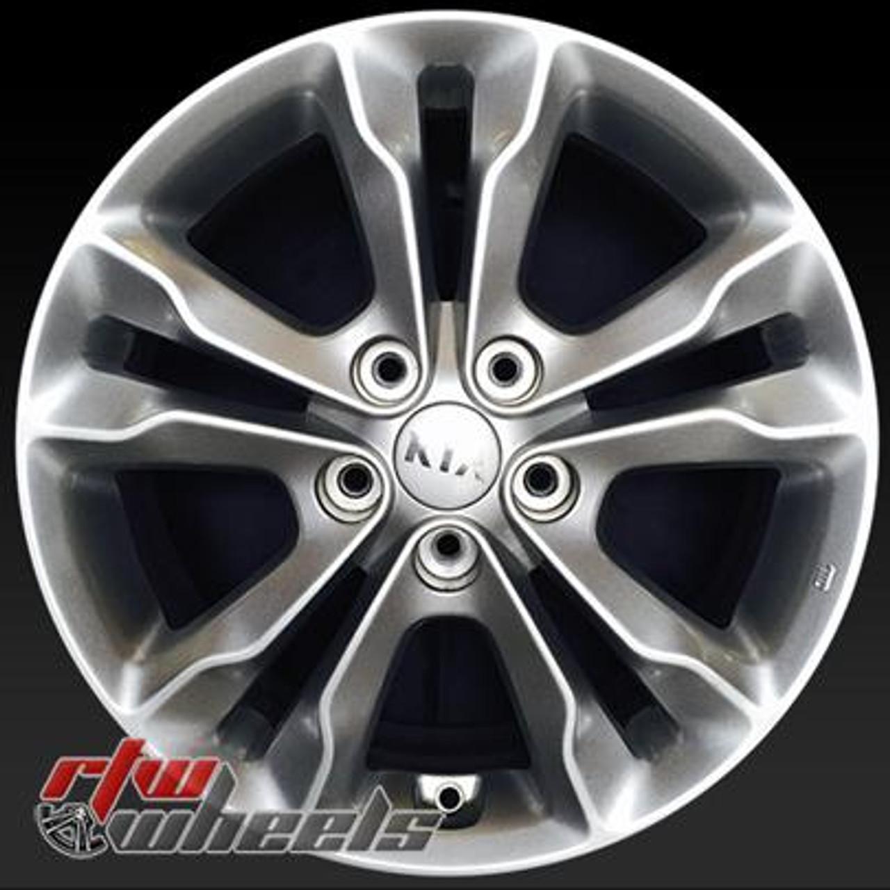 """2013 Kia Optima Sx For Sale: 17"""" Kia Optima Wheels For Sale 2011-2013 Silver Rims 74638"""
