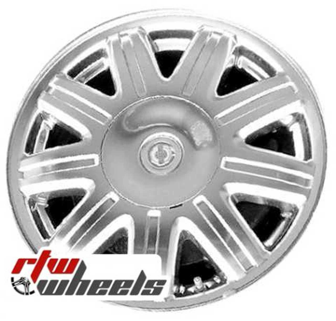 """Chrysler Town And Country Wheels 2004-2007. 16"""" Machined"""