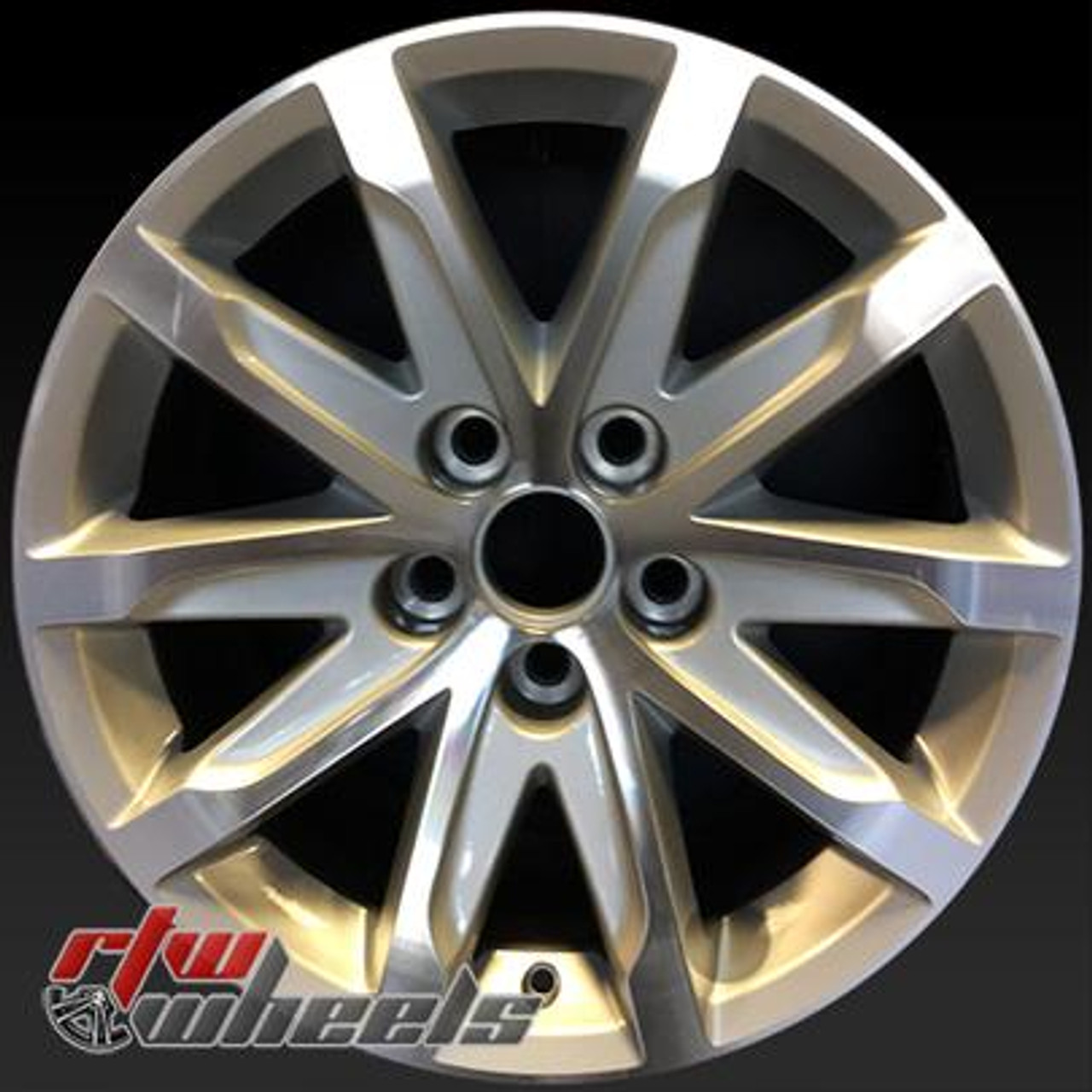 "17"" Cadillac CTS Wheels For Sale 2014-2015 Silver Rims 4713"