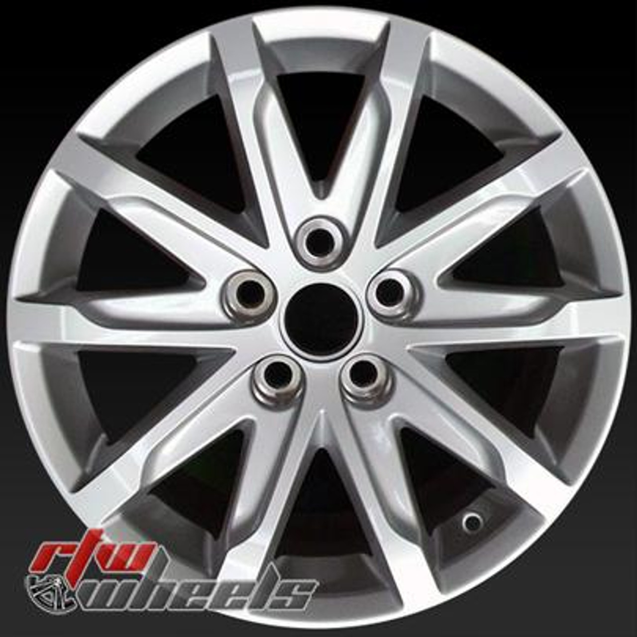 "17"" Cadillac CTS Oem Wheels For Sale 2014-2016 All Silver"