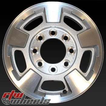 17 inch Chevy Silverado  OEM wheels 5500 part# 9597726, 9597727