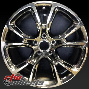 20 inch jeep Grand Cherokee  OEM wheels 9140 part# 1WB011D5AA, 1WB011D5AB