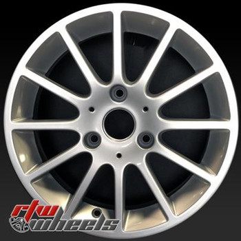 Smartcar Passion oem wheels 85175 Silver factory rim