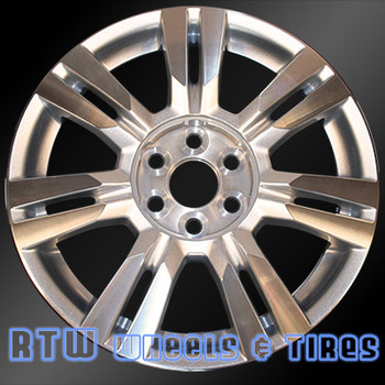 18 inch Cadillac SRX  OEM wheels 4664 part# 09597417