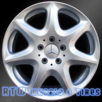 17 inch Mercedes S430  OEM wheels 65307 part# 2204013002