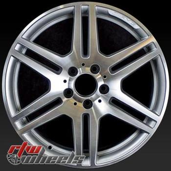 17 inch Mercedes C300  OEM wheels 65529 part# 2044014502