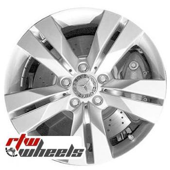 17 inch Mercedes SLK350  OEM wheels 85087 part# 1714013602