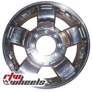 18 inch Ford F250 F350  OEM wheels 99690 part# 4C3J1007AA