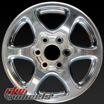 17 inch GMC Yukon OEM wheels 5132 part# 9594696