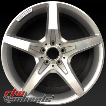 19 inch Mercedes SL550 OEM wheels 85284 part# 2314011702