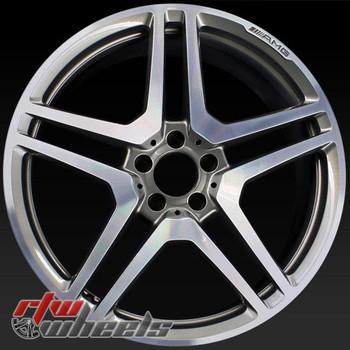 20 inch Mercedes CL63 OEM wheels 85052 part# 2214013202